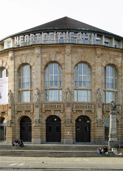 Steine-in-Freiburg - Stadttheater